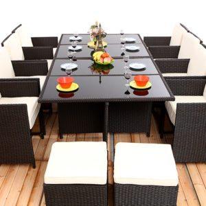 Rattan furniture, Rattan dining tables, Rattan dining chairs
